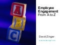 Employee Engagement A To Z Slides