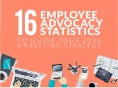 16 Employee Advocacy Statistics to Guide Your 2016 Marketing Strategy