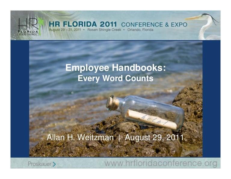 Handbook Terminology: