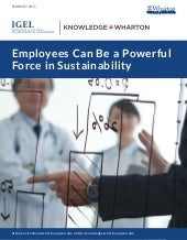 Employees Can Be a Powerful Force in Sustainability