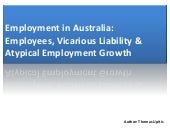 Employees, Vicarious Liability &amp...