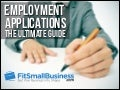 Employment Applications - The Ultimate Guide