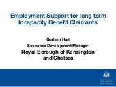 Employment support for long term in...