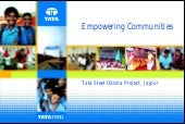 Empowering communities tata steel o...