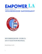 EmpowerLA Elections Manual