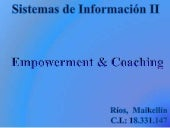 Empowerment and coaching