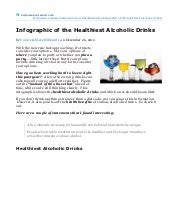 Infographic of the Healthiest Alcoh...
