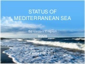 status of mediterranean sea