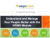 EmpXtrack's HR Management System - Datasheet