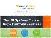 EmpXtrack's Integrated Talent Management System - Datasheet
