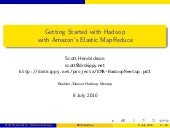 Amazon Elastic MapReduce -- Getting...