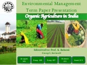 EM Term Paper: Organic Farming in I...