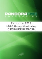 Pandora FMS: Open LDAP server monit...