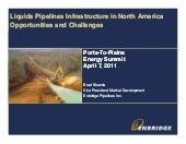 Liquids Pipelines Infrastructure in...
