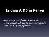 Funding Mechanisms and the End of AIDS