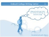 Endicott job talk