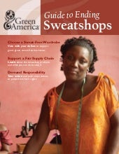 Ending sweatshops by Green America