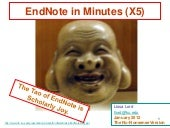 EndNote (Really Quick)