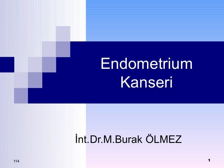Endometrium Kanseri ...