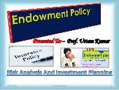 Endowment Policy SSR
