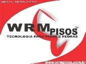 Endurecedor concreto wrm_pisos_2012
