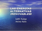 Energias alternativas (renovables) ...