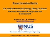 Energy Harvesting Presentation  Rjc Tyk 2