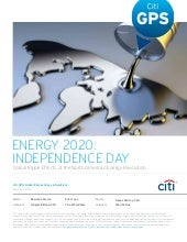 Energy 2020: Independence Day