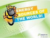 Energy sources power point-Notes