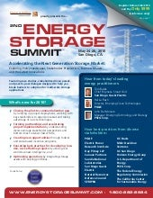 Energy Storage Summit 2010