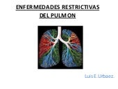 Enfermedades restrictivas del Pulmon