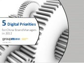 Five digital priorities for china b...
