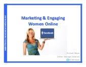 Engaging And Marketing To Women Online