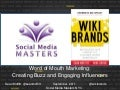 Social Media Masters : Buzz, Evangelism and Word of Mouth (Sean Moffitt)