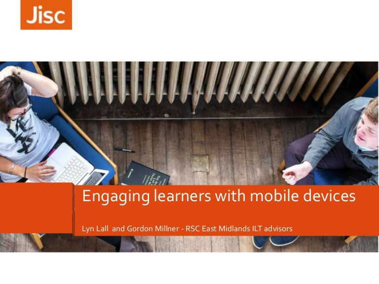 Engaging learners with mobile devices