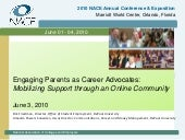 Engaging Parents As Career Advocate...