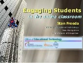 Engaging Students in Online Discussion 2014