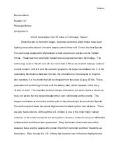 English 101 papers