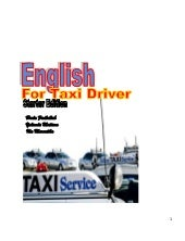 English book for taxi driver