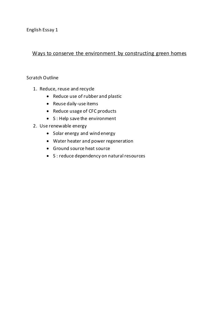 english essay ways to reduce pollution