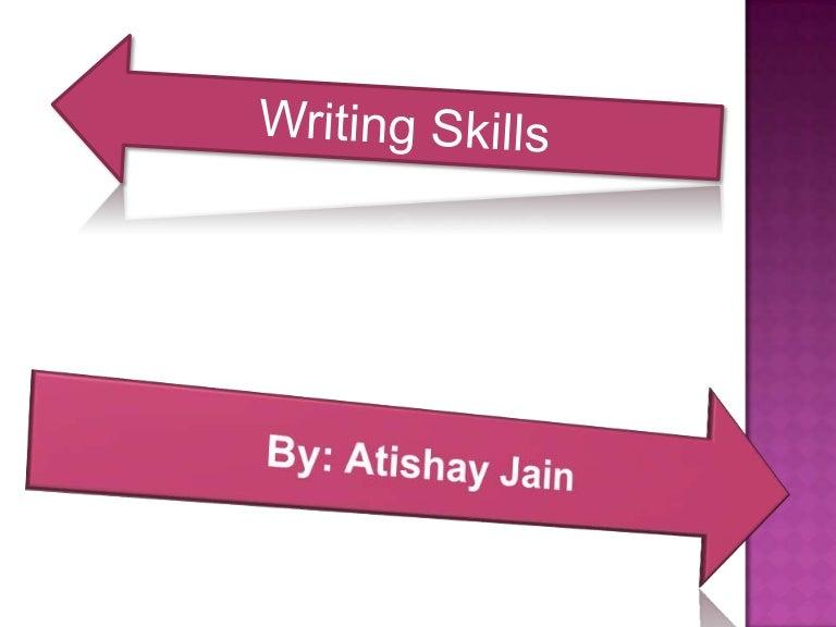 English and Writing Skills Problems?