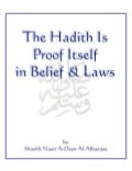 En hadith is_proof_itself_in_belief_laws