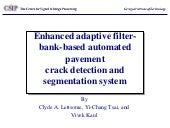 Enhanced adaptive filter bank-based automated pavement
