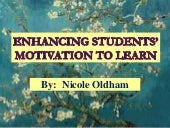 Enhancing students' motivation to l...