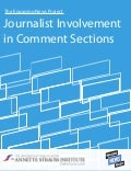 Journalist Involvement  in Comment Sections