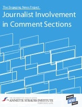 Journalist Involvement  in Comment ...