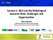 Enriching the semantic web tutorial...