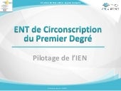 Ent de circonscription pilotage i...