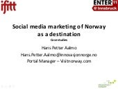 Social media marketing of Norway. E...
