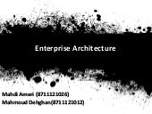Enterprise Architecture basics